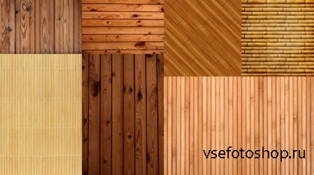 Bamboo Parquet and Paneling Textures JPG Files