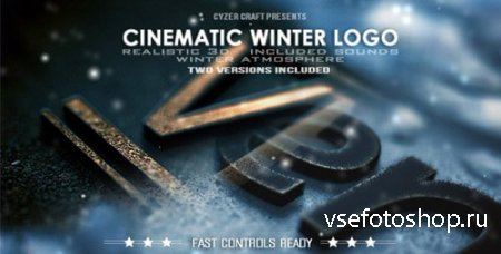 Cinematic Winter Logo - Project for After Effects (Videohive)