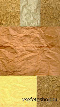Texture Crumpled Wrapping Paper of High Quality