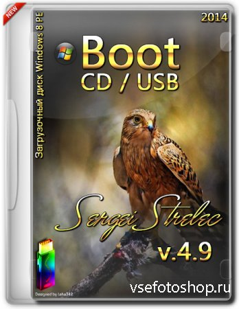 Boot CD USB Sergei Strelec 2014 v.4.9 x86 Windows 8 PE (ENG/RUS)