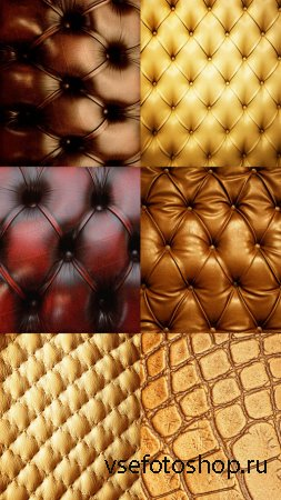 Leather Upholstery Set HQ Textures JPG Files