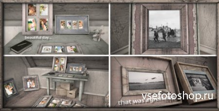 Old Photo Frames - Project for After Effects (Videohive)