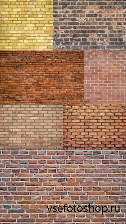 Texture of Brick Wall JPG Files
