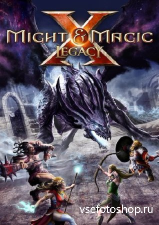 Might & Magic X Legacy (2013/RUS/MULTI14/Repack R.G. Revenants)