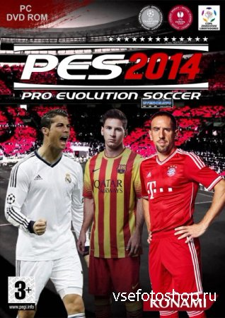 Pro Evolution Soccer 2014 v.1.3.0.0 (2013/RUS/ENG/MULTi7/RePack by R.G. Rev ...