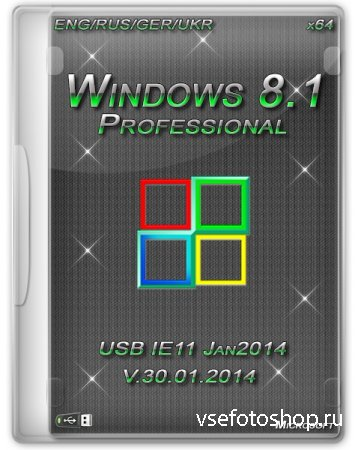 Windows 8.1 Professional x64 Heavieri IE11 Jan2014 (ENG/RUS/GER/UKR)