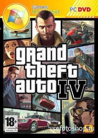 GTA 4 / Grand Theft Auto IV: BPAN Edition (2008-2014/RUS/RePack by AlpineR)