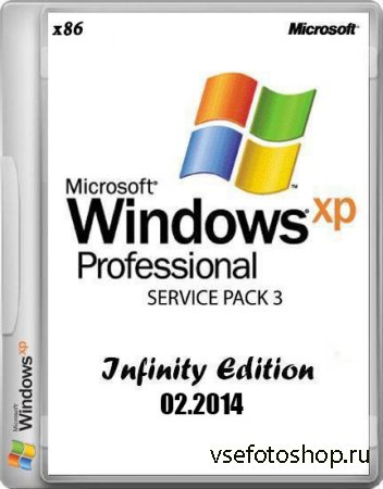 Microsoft Windows XP Professional Service Pack 3 Infinity Edition 02.2014 ( ...
