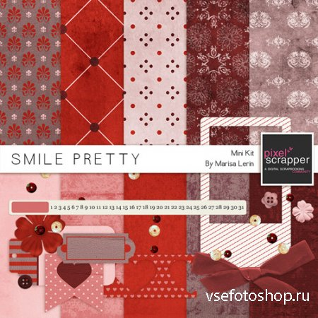 Scrap - Smile Pretty PNG and JPG Files