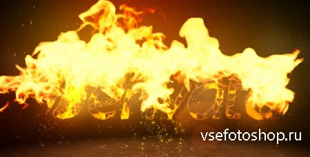 Fire Logo Reveal - VideoHive Project for After Effects