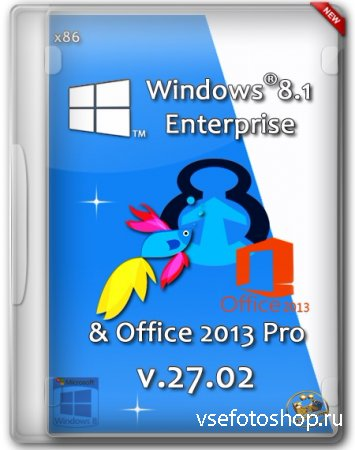 Windows 8.1 Pro vl Enterprise Office 2013 x86 v.27.02 by DDGroup (2014/RUS)