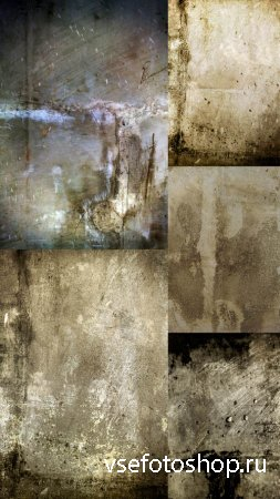 5 Grungy Textures JPG Files