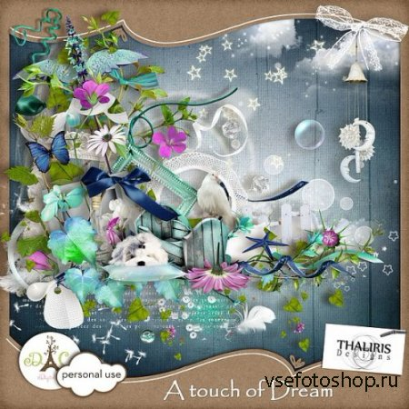 Scrap - A touch of Dream PNG and JPG Files
