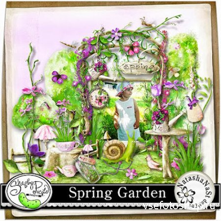 Spring Garden Kit JPG and PNG Files