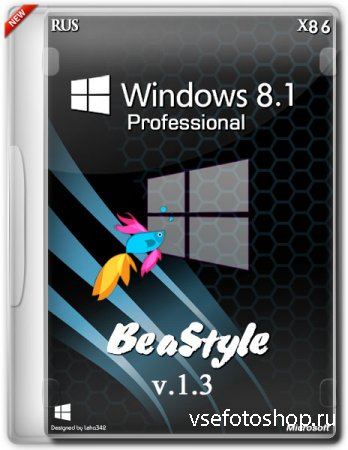 Windows 8.1 Professional x86 BeaStyle v.1.3 (2014/RUS)
