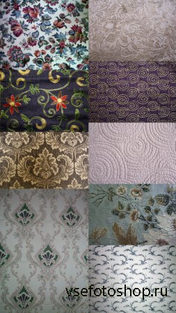 Floral Fabric Textures JPG