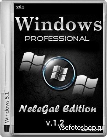 Windows 8.1 Professional x64 NeleGal Edition + Office 2013 v.1.2 (RUS/ENG/G ...