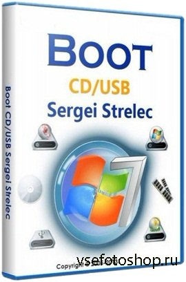 Boot USB Sergei Strelec 2014 v.5.4 (х86/x64)