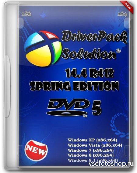 DriverPack Solution 14.4 R412 Spring Edition DVD5