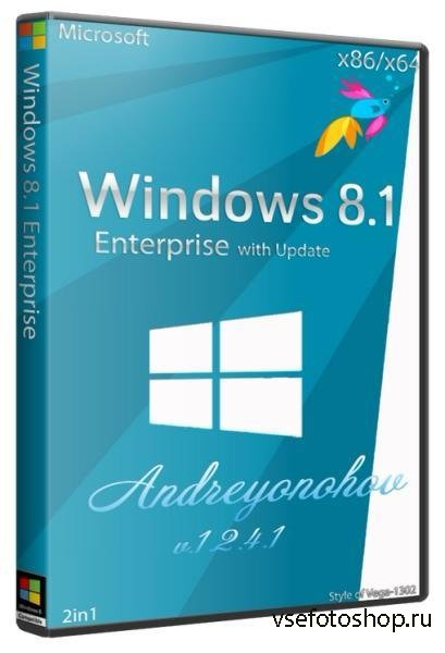 Windows 8.1 Enterprise with Update 2in1 v.1.2.4.1 by Andreyonohov(x86/x64/R ...