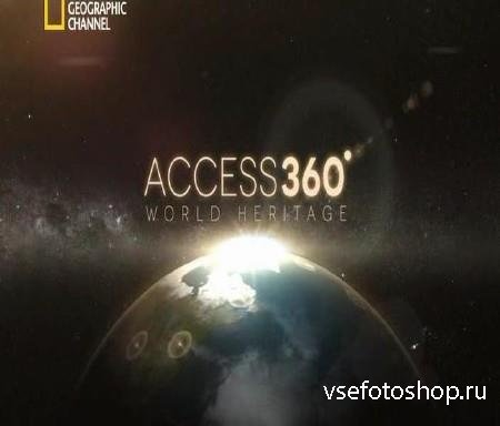 National Geographic. Панорама 360° Объект всемирного наследия. Гора Фудзияма / Access 360° World Heritage (2013) SATRip
