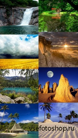 Beautiful Wallpapers of Nature Pack 7