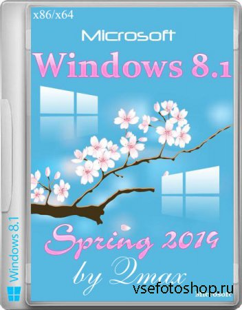 Windows 8.1 Professional x86/x64 Spring Update by Qmax (2 DVD/2014/RUS)