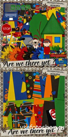 Scrap - Are we There Yet PNG and JPG