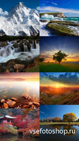 Beautiful Wallpapers of Nature Pack 12