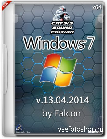 Windows 7 SP1 Ultimate x64 by Falcon Crysis Sound Edition v.13.04 (2014/RUS ...