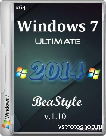 Windows 7 Ultimate x86/x64 Office 2013 BeaStyle v.1.10 (2014/RUS)