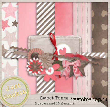 Scrap - Sweet Tones PNG and JPG