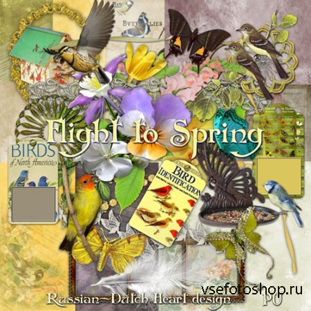 Scrap - Flight to Spring PNG and JPG