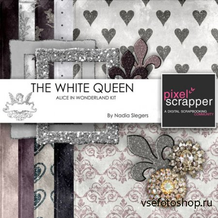 Scrap - The White Queen PNG and JPG