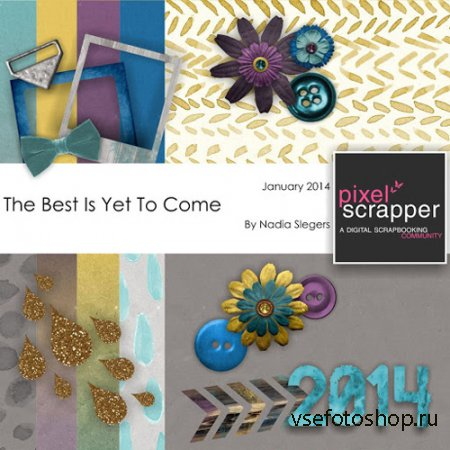 Scrap - The Best Is Yet to Come JPG and PNG