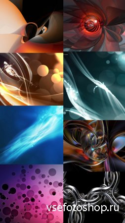 Collection of Abstract Wallpapers HQ Pack 10