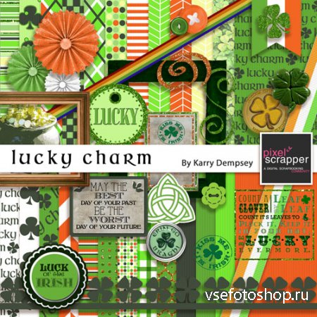 Scrap - Lucky Charm PNG and JPG