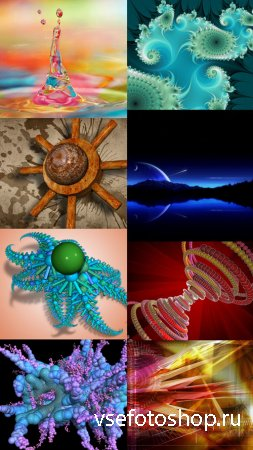 Collection of Abstract Wallpapers HQ Pack 11