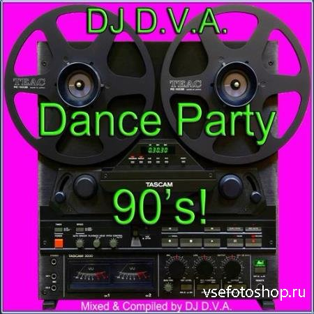 DJ D.V.A. - Dance Party 90's! (2014)