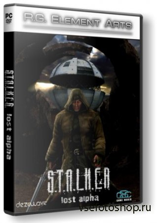 S.T.A.L.K.E.R. - Lost Alpha (2014PCRus) RePack by R.G. Element Arts