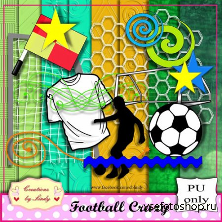 Scrap - Football Crazy PNG and JPG