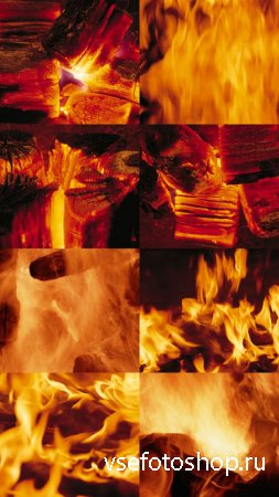 Flame Textures JPG