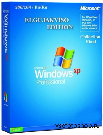 Windows XP Pro Collection (x86/x64) Elgujakviso Edition Final (v05.05.14) [ ...