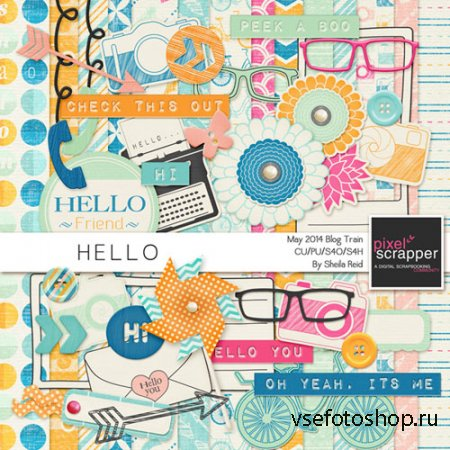 Scrap - Hello JPG and PNG Files Set 3