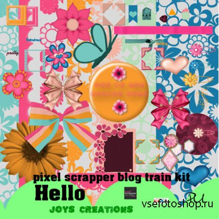 Scrap - Hello JPG and PNG Files Set 4