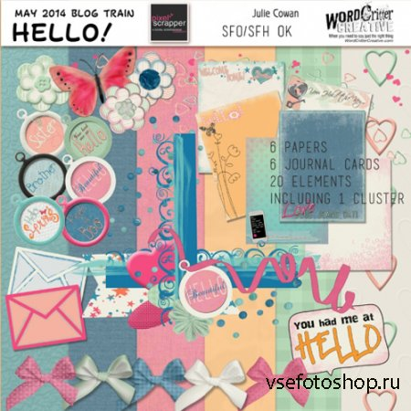 Scrap - Hello JPG and PNG Files Set 6