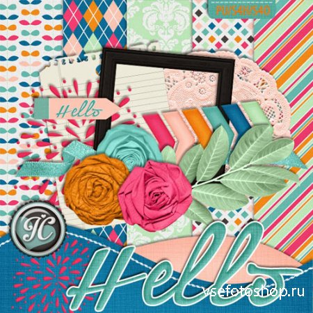 Scrap - Hello JPG and PNG Files Set 8