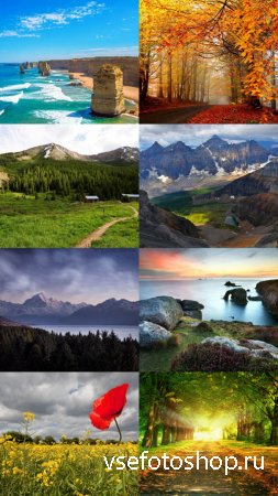Beautiful Wallpapers of Nature Pack 20